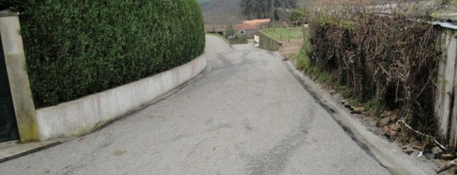 Obras nos caminhos de Vilares, Cascalha e Seara