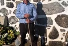 José Feijó, coveiro há mais de 30 anos