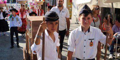 Recriação de antigo cortejo de oferendas rendeu 500 euros para os Bombeiros